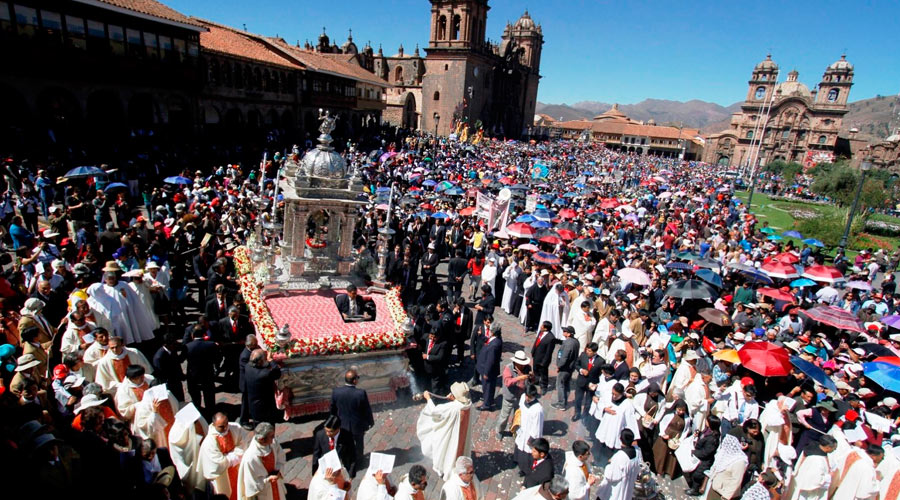 Corpus Christi Cusco: Religion, Tradition, Music and Food