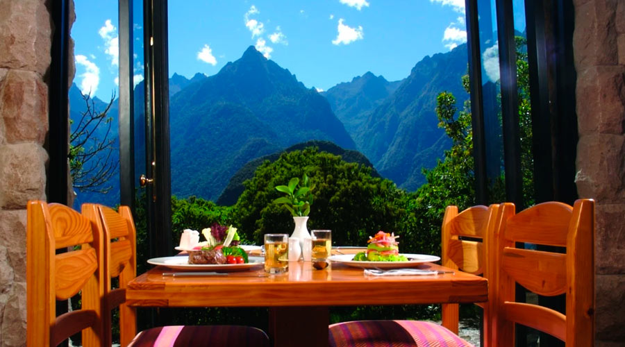 Machu Picchu Overlooking Luxury Hotel