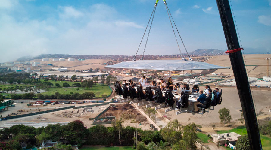 A Luxury Travel to Peru: Sky Dinner at Lima