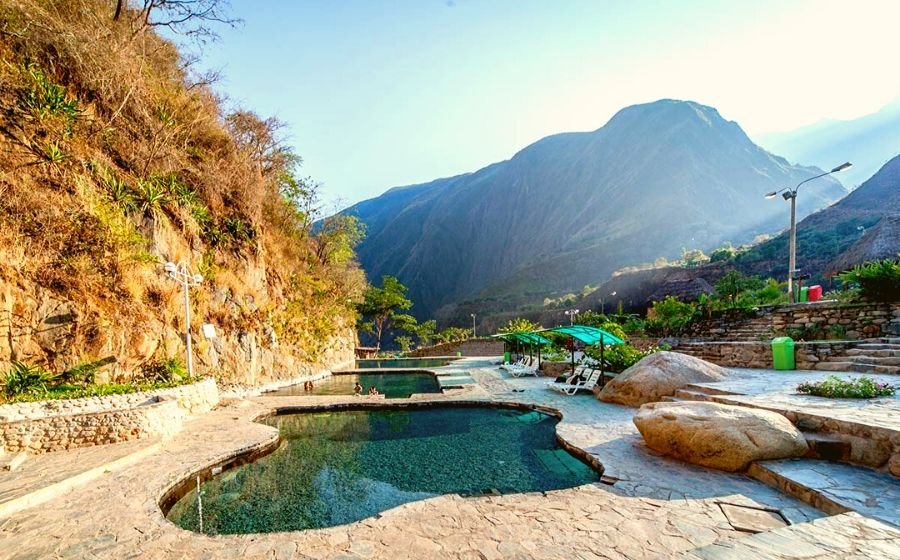 The Thermal baths of Santa Teresa